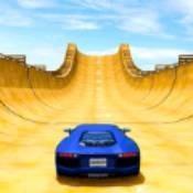 疯狂的汽车特技巨型坡道最新版