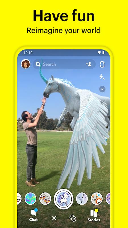 snapchat手机版app下载安装