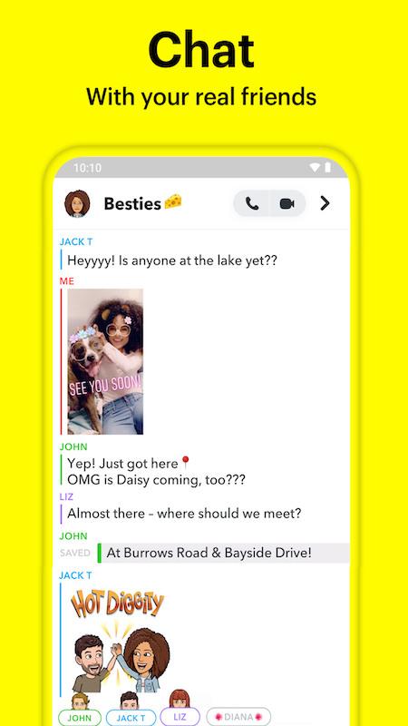 snapchat手机版官方苹果版下载