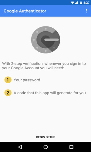 Google身份验证器app安卓手机版下载