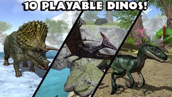 终极恐龙模拟器无限经验无限血全解锁中文版