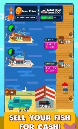 闲置钓鱼故事游戏最新安卓版