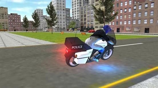 警用摩托车模拟器中文版最新下载