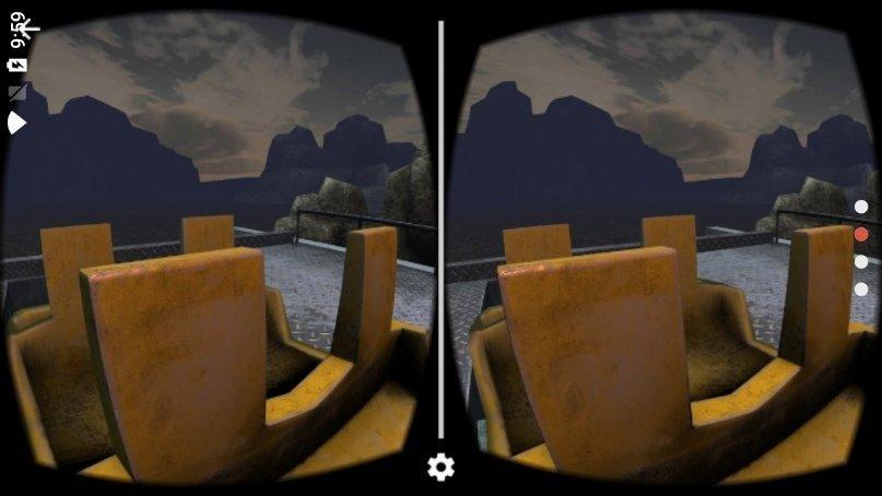 惊险过山车VR手机游戏
