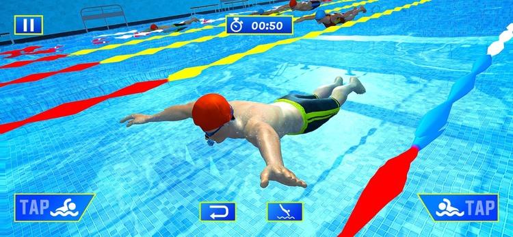 水上游泳池特技比赛下载