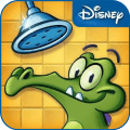 顽皮小鳄鱼爱洗澡