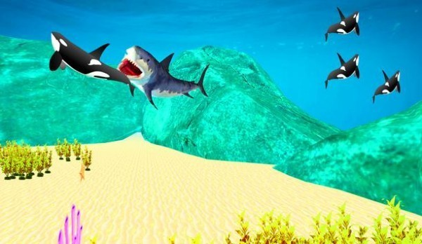 巨型鲨鱼吞噬安卓版v1.0