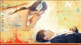 爱情神话win7桌面主题下载