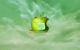 绿色苹果xp主题