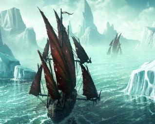冰河船队xp主题