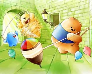 卡通高熊市xp主题