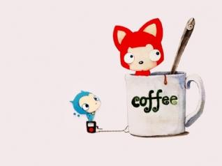 阿狸咖啡xp主题