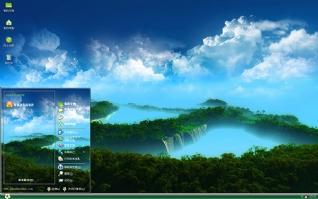 壮阔自然风景简约xp主题