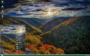 震撼人心自然风景xp主题