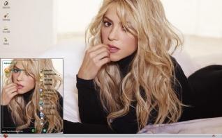 拉丁天后夏奇拉Shakira