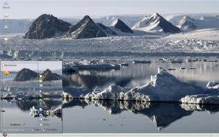 冰河唯美自然风景主题