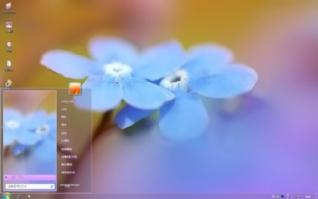 春天的花朵win7电脑主题