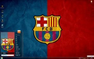 巴塞罗那Barcelonawin7主题