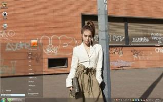 蔡依林杂志写真win7主题