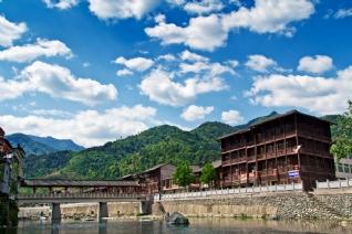 青木川古镇风景壁纸