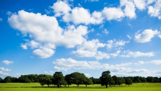 蓝天白云自然风景壁纸