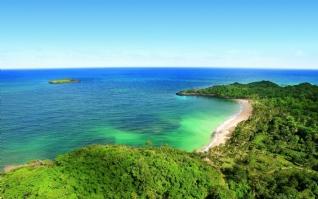 蓝天碧海自然美景壁纸