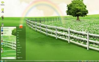 彩虹win7桌面主题