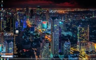 迷人的城市风景
