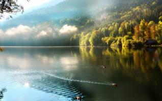 唯美宁静的山水风景壁纸