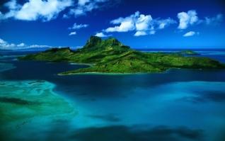 唯美海岛风光壁纸