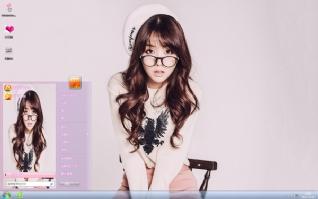 韩国美女方敏雅时尚写真主题
