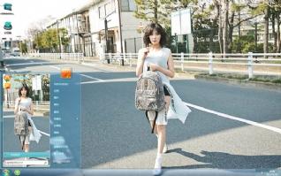 韩国气质美女金泫雅时尚主题